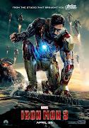 Brand new Iron Man 3 poster. Poor old Tony Stark.