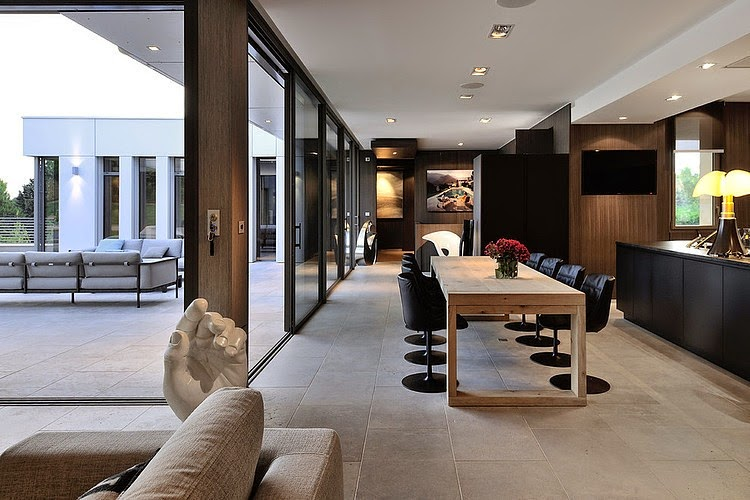 Villa de lujo wa laurent guillaud lozanne architecte for Lujo interiores minimalistas