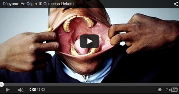 Dünyanın En Çılgın 10 Guinness Rekoru