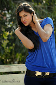 Sneha Tagore Photo shoot in Blue-thumbnail-10
