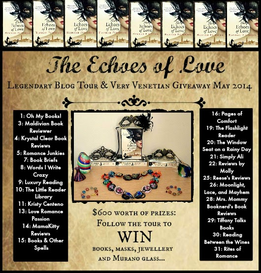 The Echoes of Love 'Legendary' Blog Tour