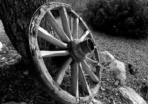 The wheel is another invention so ancient that we have no way of knowing who first developed it the oldest wheel and axle mechanism weve found was near