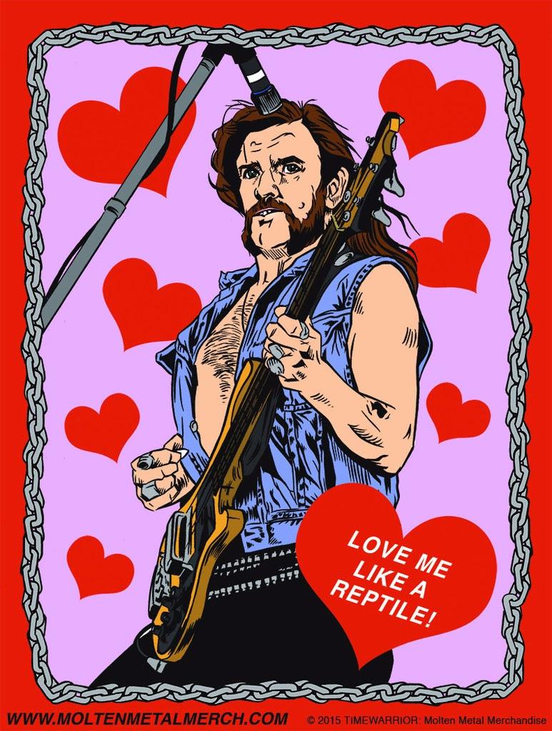valentines day guitars meme - Wonderful Wonderblog Heavy Metal Heroes Valentine s Day Cards