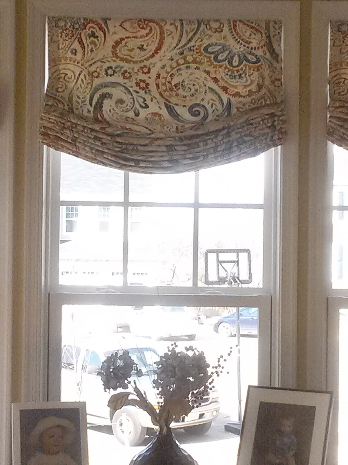 The Drapery Shop Fully Operable Relaxed Roman Shades