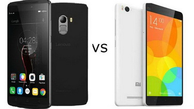 Perbandingan Xiaomi Mi4i vs. Lenovo K4 Note
