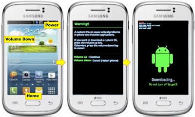 Cara Gampang Flash Samsung Galaxy Young GT-S5360