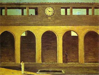 L'enigma de l'hora(Giorgio de Chirico)