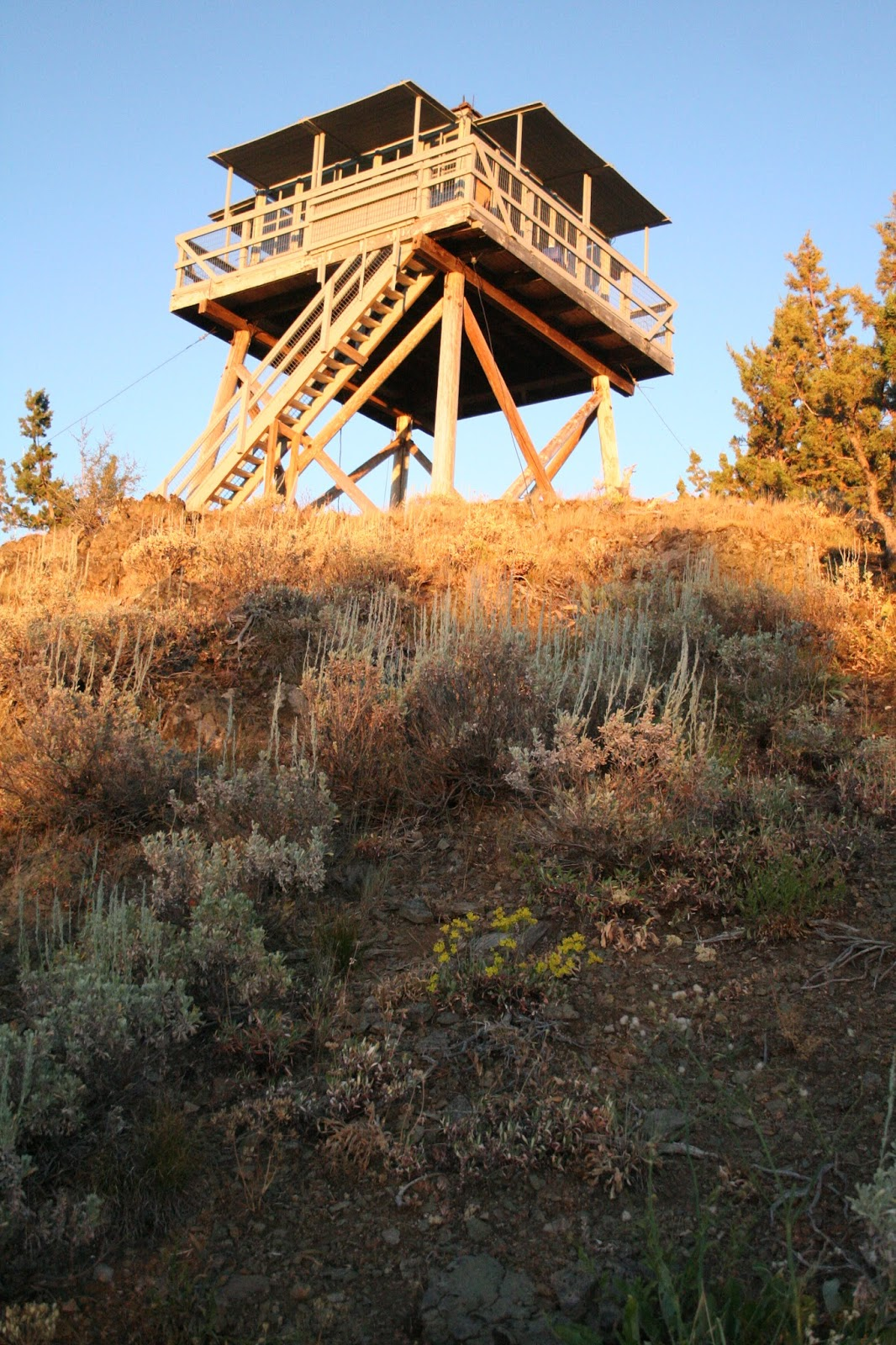 fall mountain lookout tower a mountain hearth