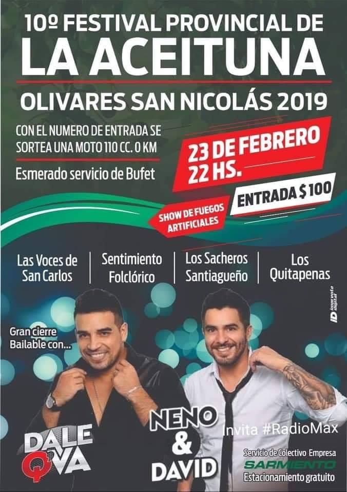 Festival Provincial de la Aceituna de Olivares de San Nicolás