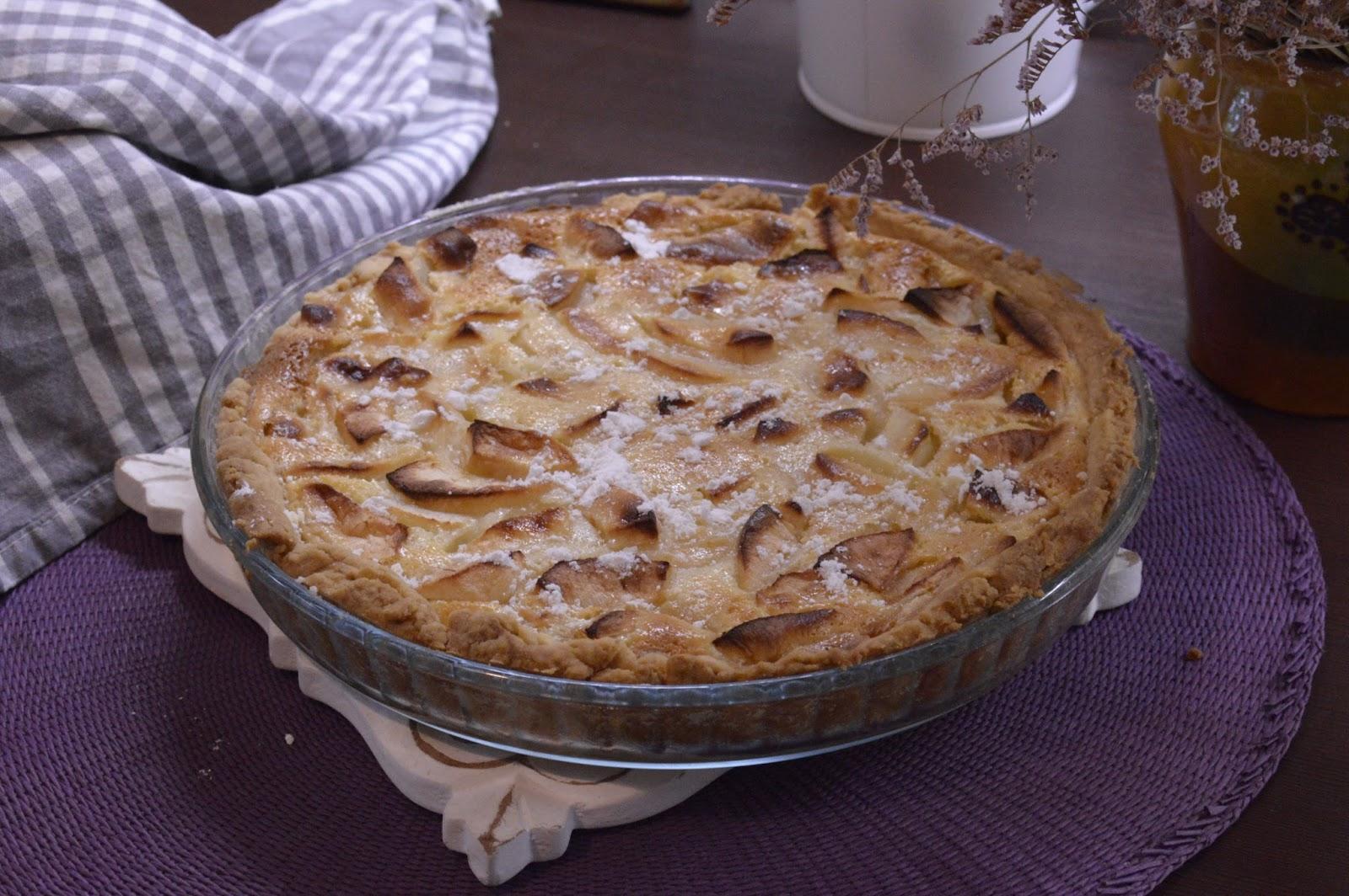 Цветаевский яблочный пирог с пошаговыми фото
