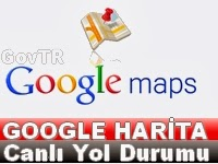 Google+Harita+canlı+trafik+Durumu