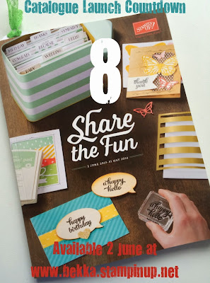 New Stampin' Up! Catalogue Coming 2 June 2015 - get one here