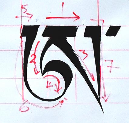 How To Write The Mani In Tibetan