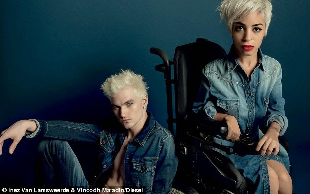the series of diesel ads called reboot embraces and celebrates our