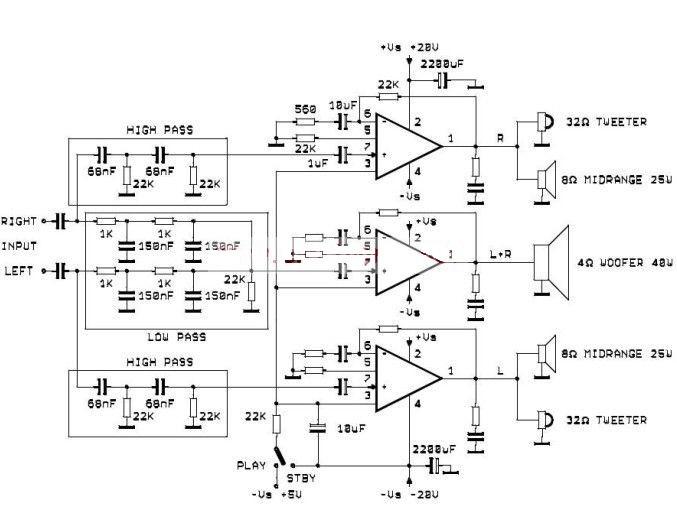 Active audio system use three tda online repair manual