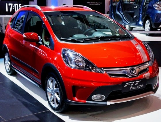 Render New Concept Crossover Generation Honda Jazz 'Twist'