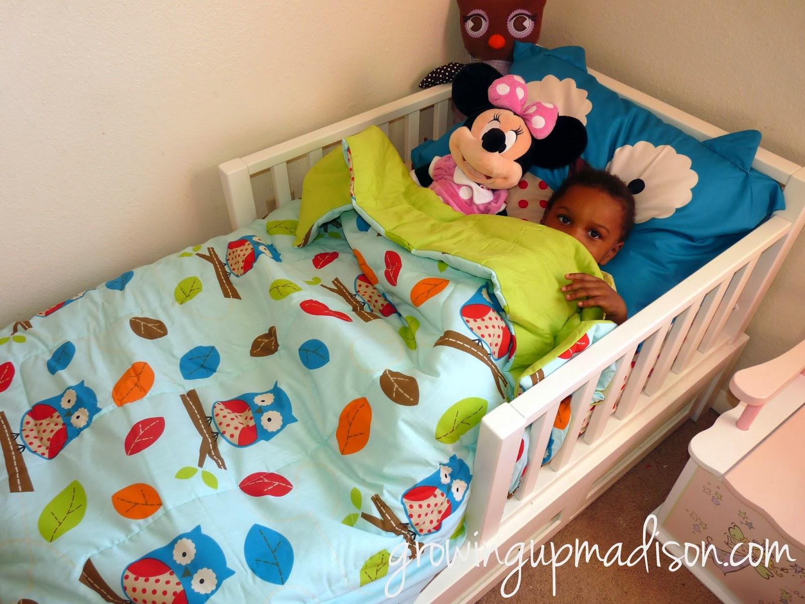 Skip Hop Owl 4 Piece Toddler Bedding Set #Review
