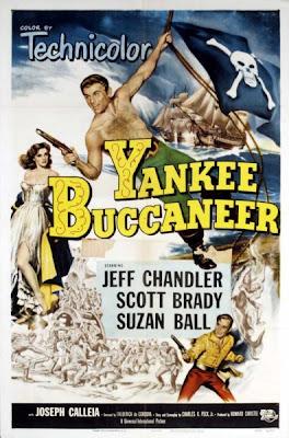 Bucaneros del Caribe | 1952 | Yankee Buccaneer, poster, carátula, Dvd