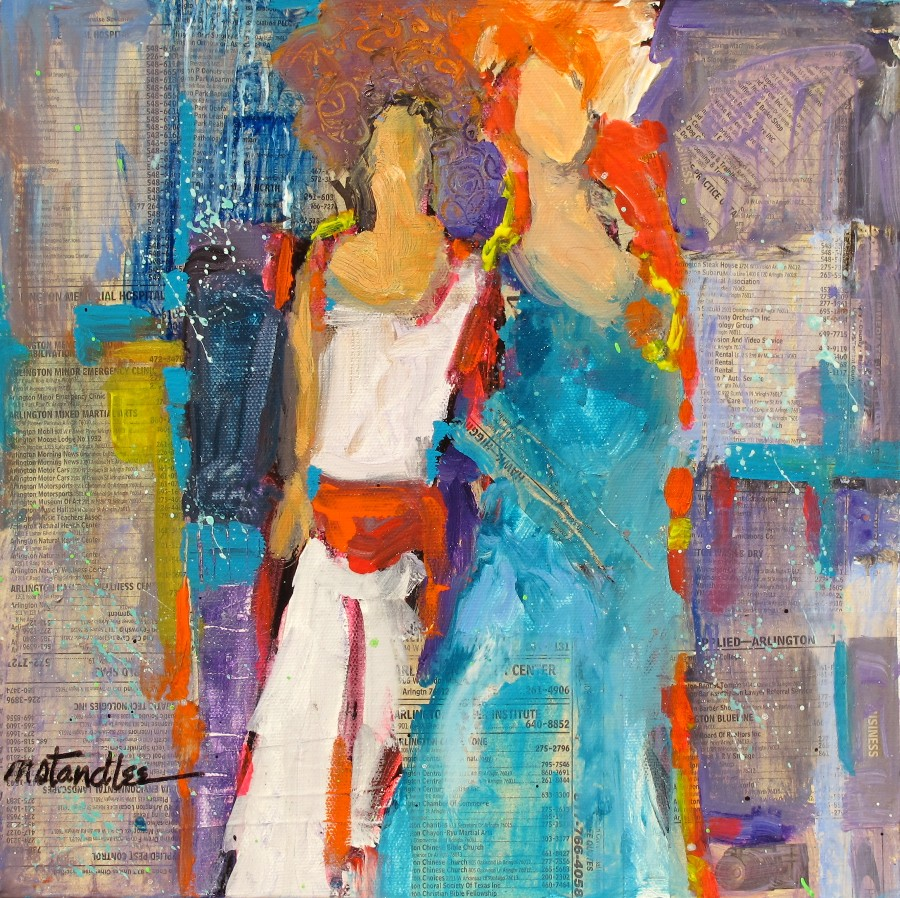 Abstract Figure Collages Media Figurative Abstract
