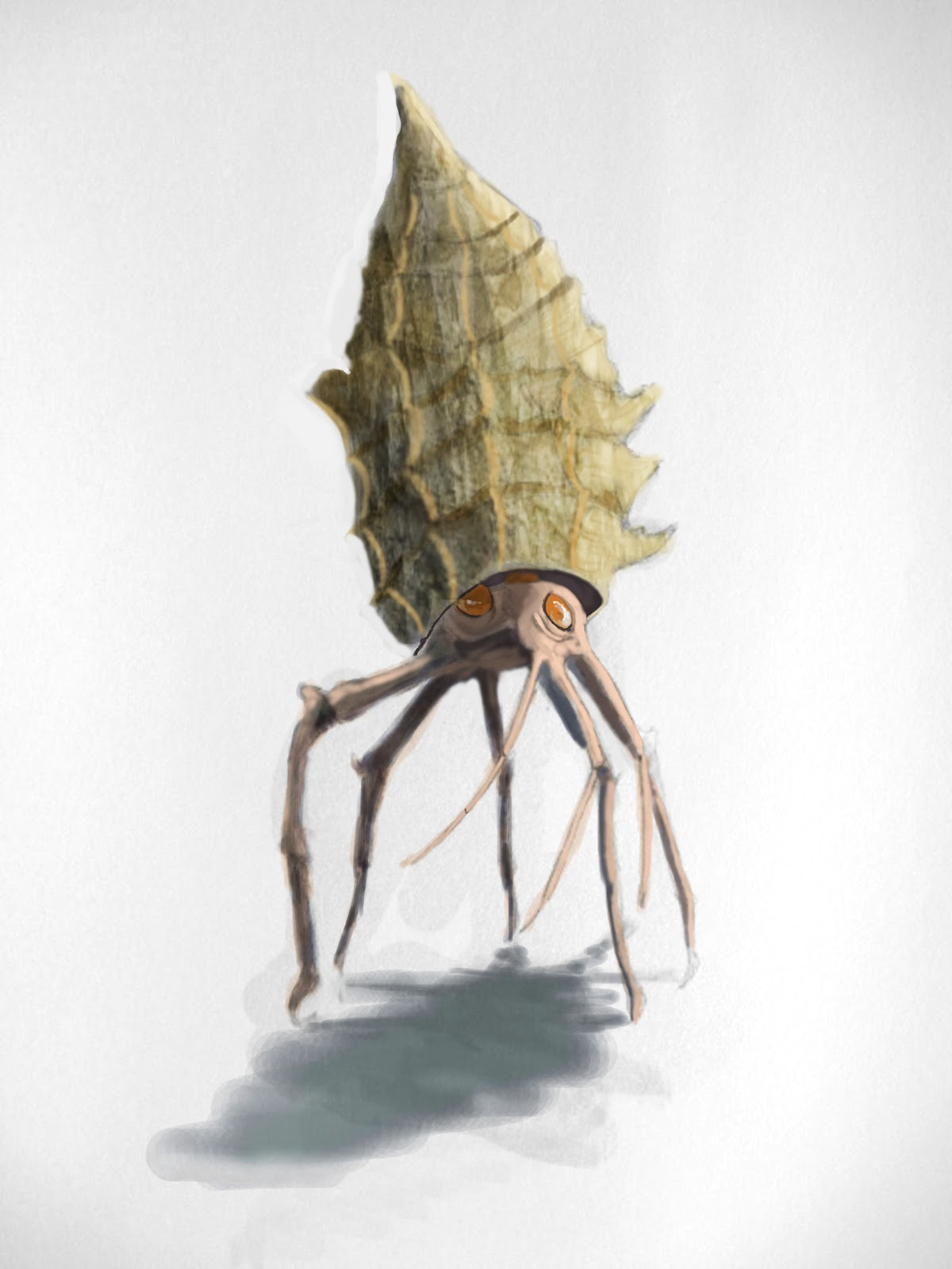 Alien crustacean marcus richardsons concept art and illustration alien crustacean jeuxipadfo Images