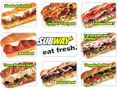 A VERY TESTY LUNCH -EAT FRESH @SUB WAY