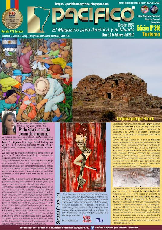Revista Pacifico N° 396 Turismo