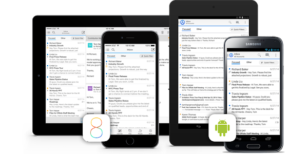 Outlook Preview for iOS and Android