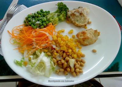Restaurante Café de São Pedro: Prato do buffet