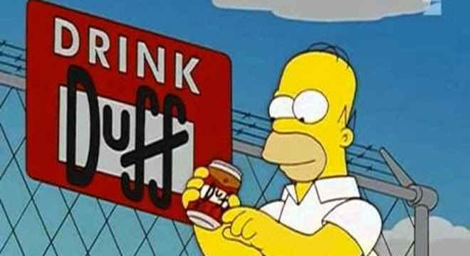 Duff - Los Simpsons