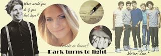 Dark turns to light