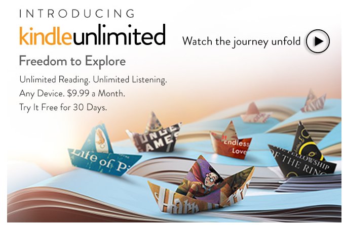 Smashwords is kindle unlimited bad for authors amazon today unveiled kindle unlimited following in the footsteps of smashwords partners scribd and oyster fandeluxe Images