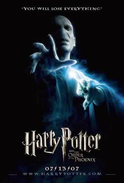 Poster Voldemort Orden del Fenix