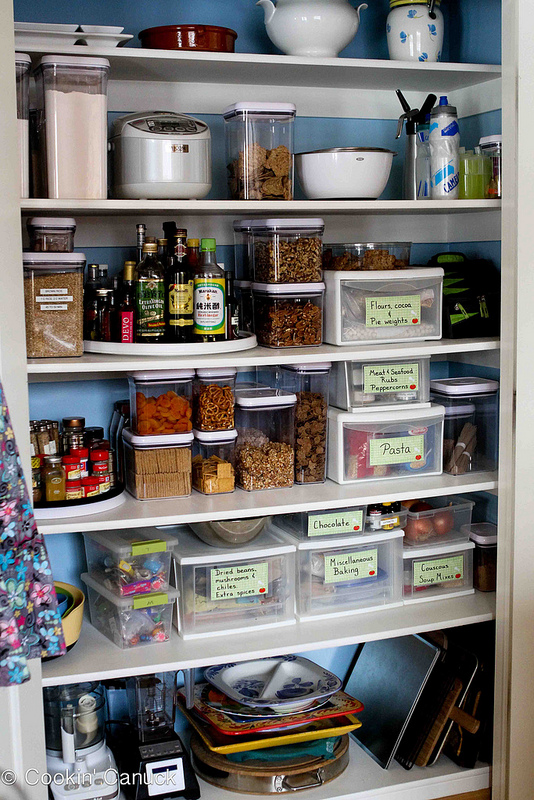4 quick tips to organize pantry practically organized for Organization ideas for kitchen pantry