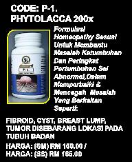 Phytolacca-(Nt-Tumor )WM RM160.00 EM RM165.00