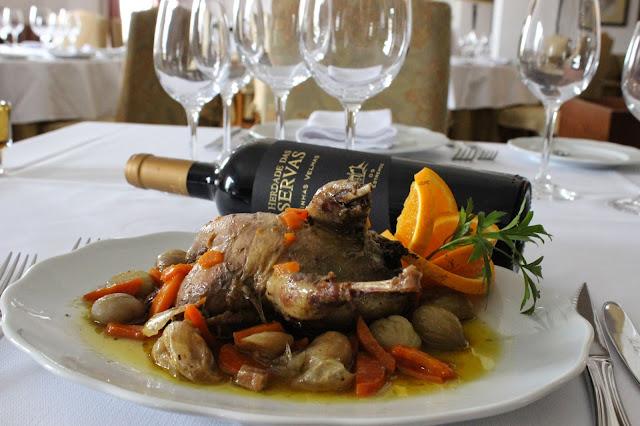 Divulgação: Pratos de caça são novidade no Restaurante Herdade das Servas - reservarecomendada.blogspot.pt
