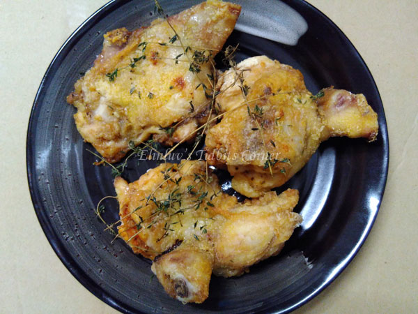 how to cook crispy skin chicken in oven