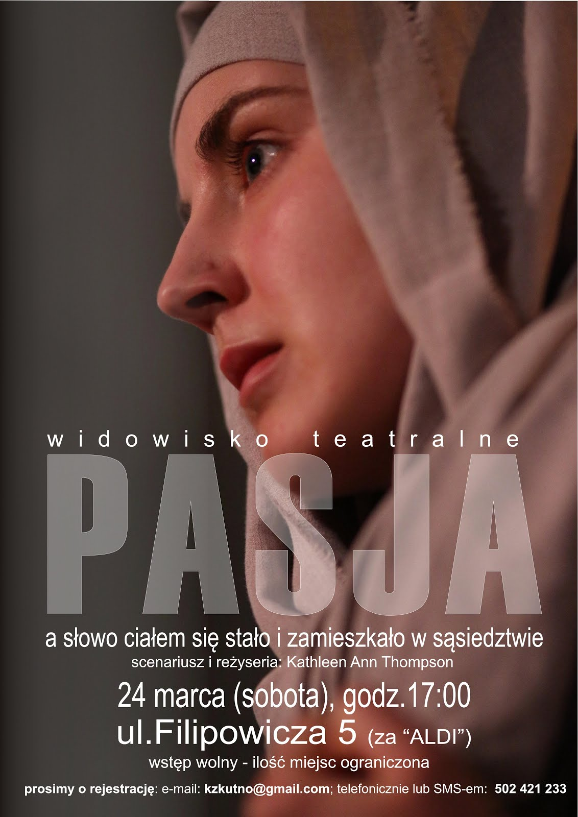 PASJA - WIDOWISKO TEATRALNE