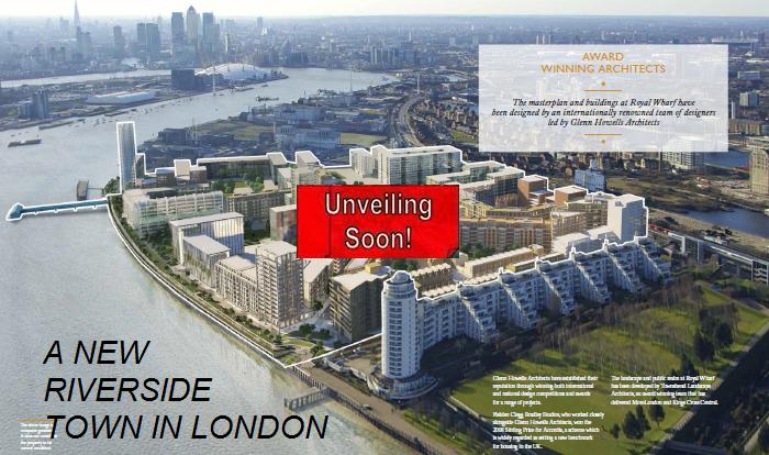 London New Launch Royal Wharf UrProperty SG