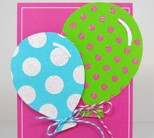 Popper and mimi cas balloon birthday cards for girls and boys i used kiwi lanes celebrate templates to make the balloons i cut tiny strips of curved paper to add a little extra dimension to each balloon bookmarktalkfo Images