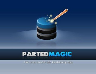 Parted Magic : A Linux Live CD