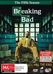 Breaking Bad Season 5, Bryan Cranston, Walter White, DVD Cover