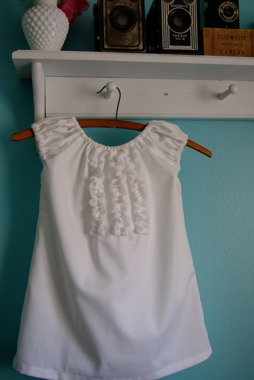 Pintucked Blouse