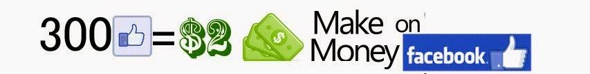 Make money on Facebook 300like= $2