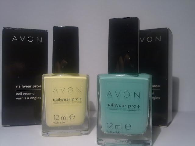 nuovi smalti avon nailwear pro +