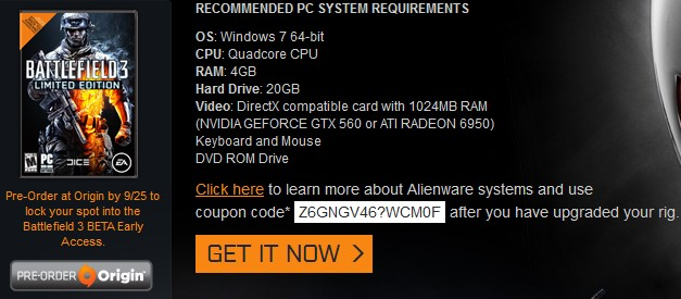 alienware coupon