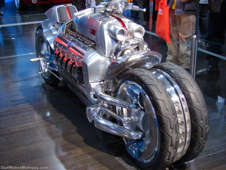 Dodge Tomahawk - Fastest Motorcycles of Today