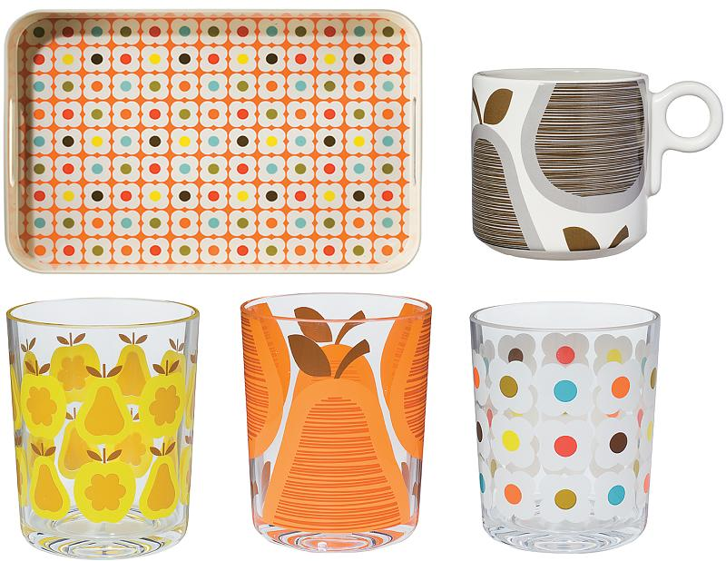 let's talk about it: orla kiely and other designer lines for