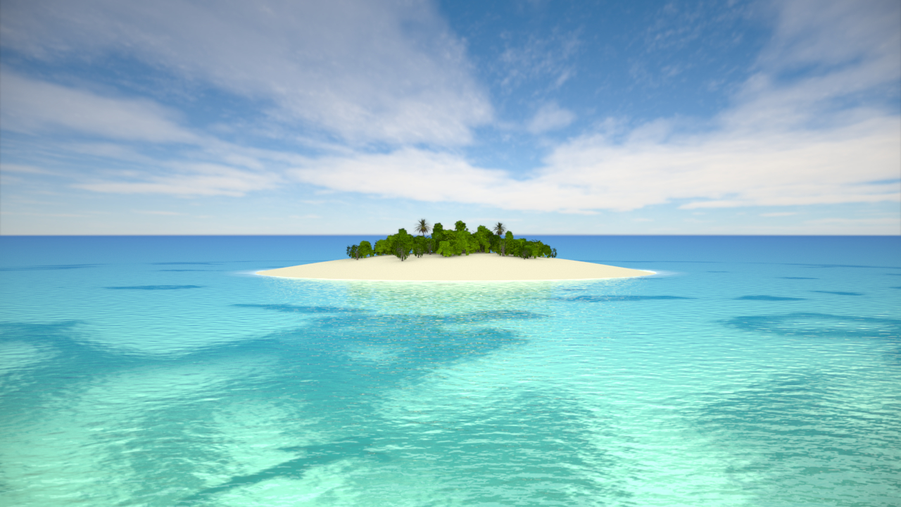 deserted island vacations