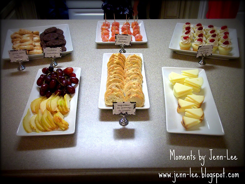 moments a french themed baby shower