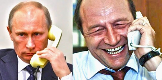 Vladimir Putin Traian Basescu
